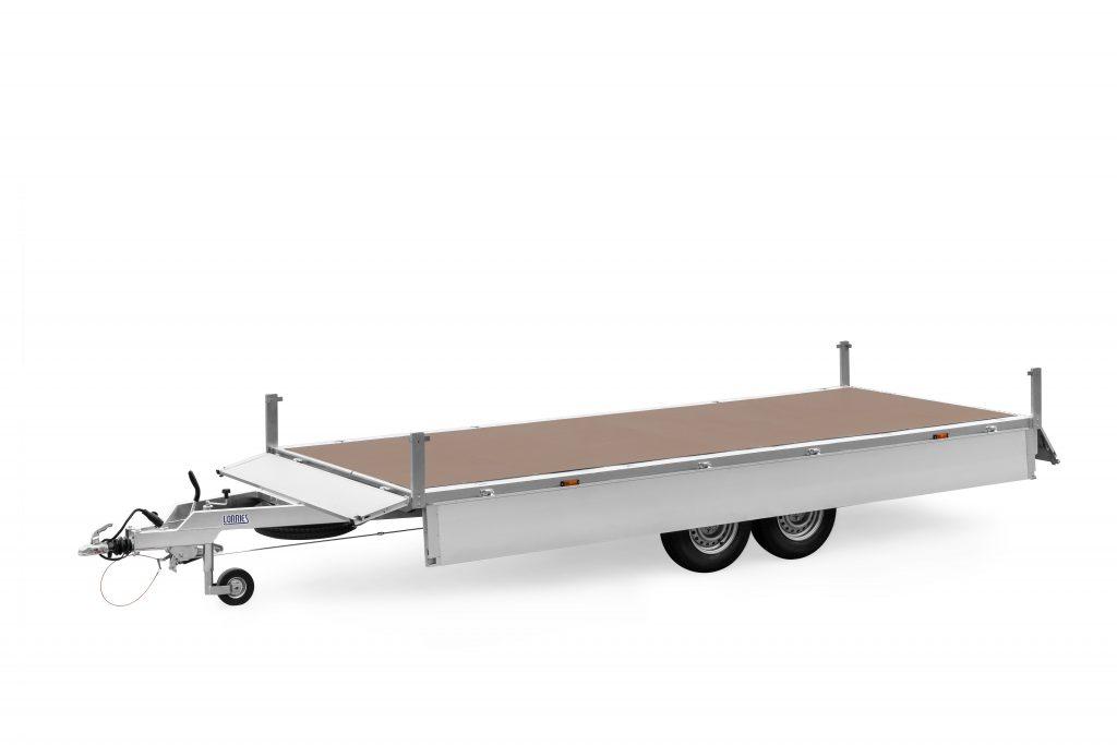 LORRIES przyczepa burtowa do transportu maszyn i towarów ciężkich PB27-4920