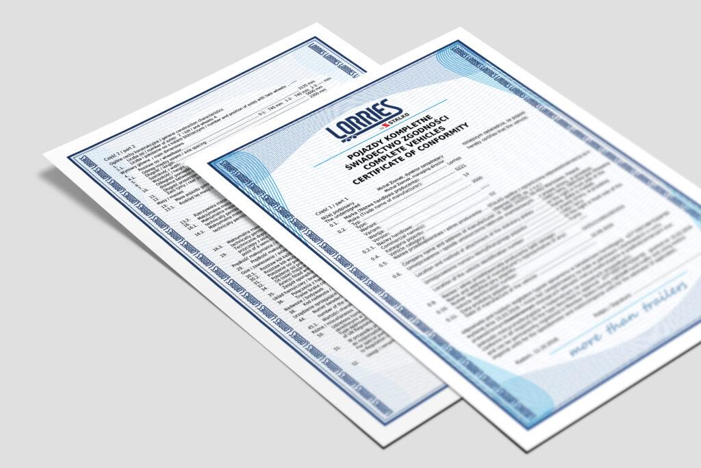 BLOG zakup przyczepy z przeznaczeniem na zagranice dokumenty
